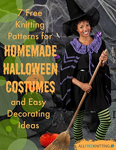 7 Free Knitting Patterns for Homemade Halloween Costumes and Easy Decorating Ideas