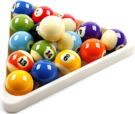 16 Bola Profesional Billar triángulo Accesorios American Pool Ball ...