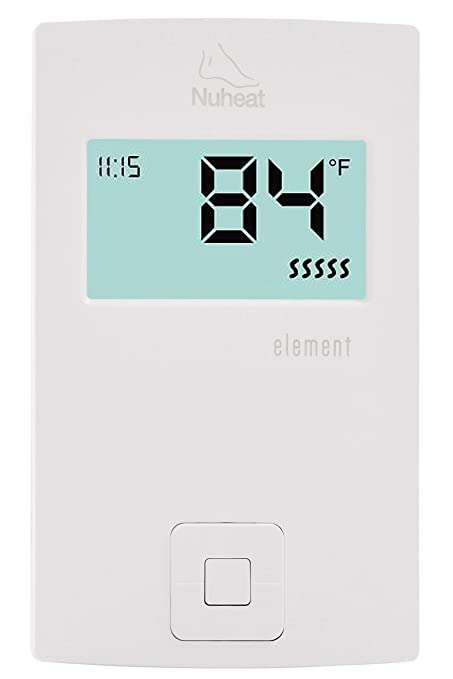 Nuheat Element Non Programmable 120 240v Radiant Floor Heating Thermostat Gfci Ac0057