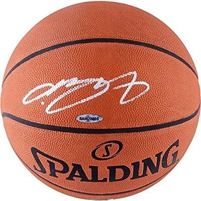 Lebron James Autographed Basketball - Spalding - Upper Deck Certified - Autographed Basketballs