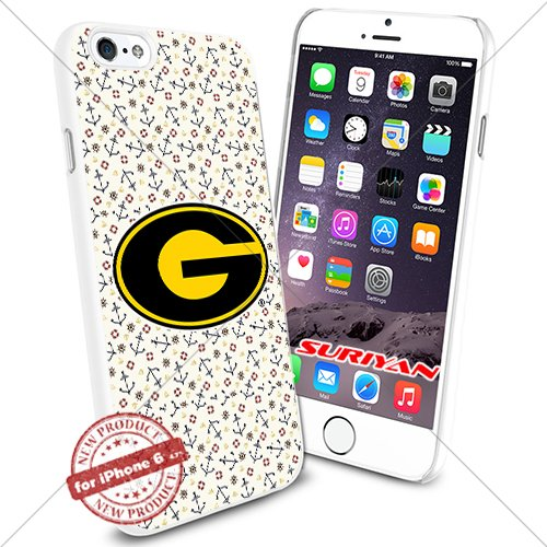 New iPhone 6 Case Grambling State Tigers Logo NCAA #1164 White Smartphone Case Cover Collector TPU Rubber [Anchor]