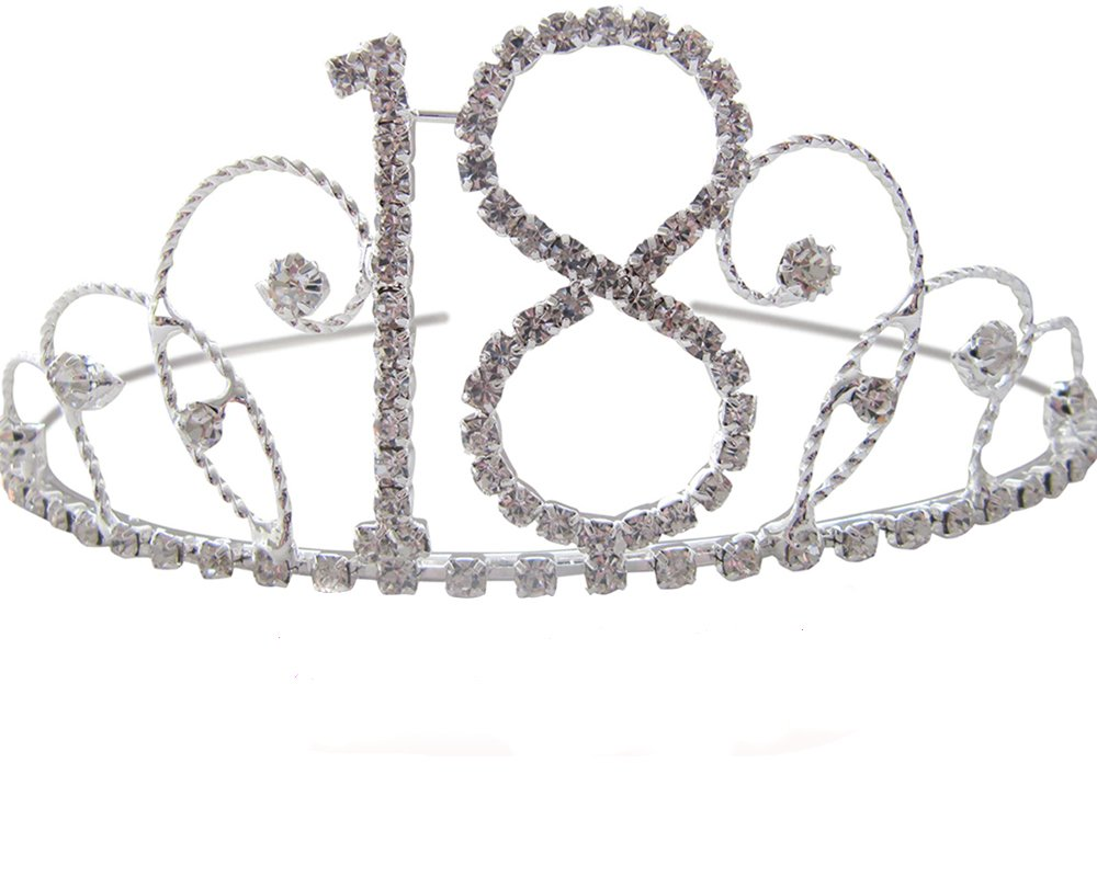 18th Birthday Tiara 18th Gift Idea Diamante Crystal Birthday Tiara Pick A Gem