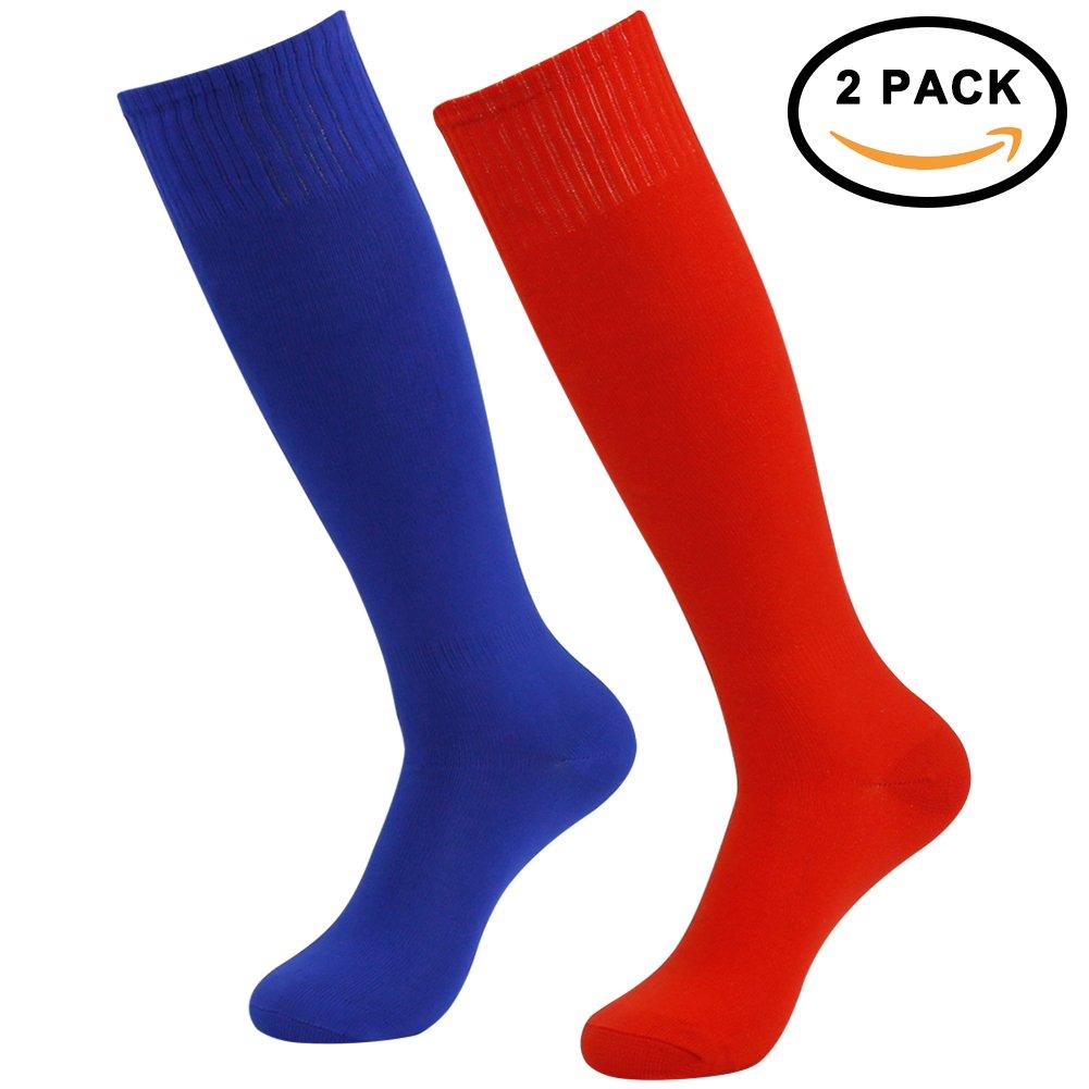 ZEALWOOD SOCKSHOSIERY メンズ B077P723VW 2 Pairs-red/Blue 2 Pairs-red/Blue