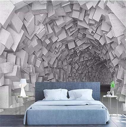 Carta Da Parati Gigantografie.Carta Da Parati 3d Soffitto Stampa Artistica Design Poster Murale Geometria Tridimensionale Decorazioni Per La Casa Moderne Adesivo Murale Ufficio Fai Da Te Rimovibile Amazon It Fai Da Te
