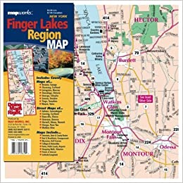 Finger Lakes Region Map: Inc. MapWorks: 9781934382394: Amazon.com: Books