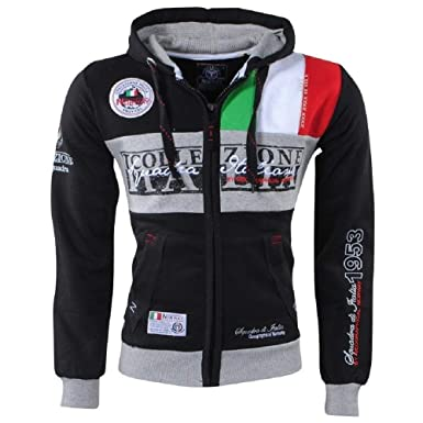 Geographical Norway Sudadera flitaly Hombre Men Full Zip Capucha: Amazon.es: Ropa y accesorios