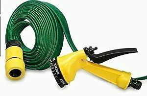 BESTOW® New Multifunction Spray Gun with 10m Water Bike Wash Garden Hose, Car Wash
