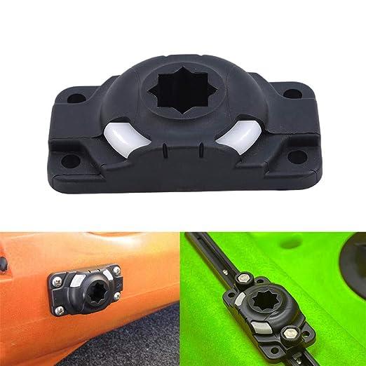 Pinhan - Soporte hinchable para kayak, resistente, con 2 tornillos ...