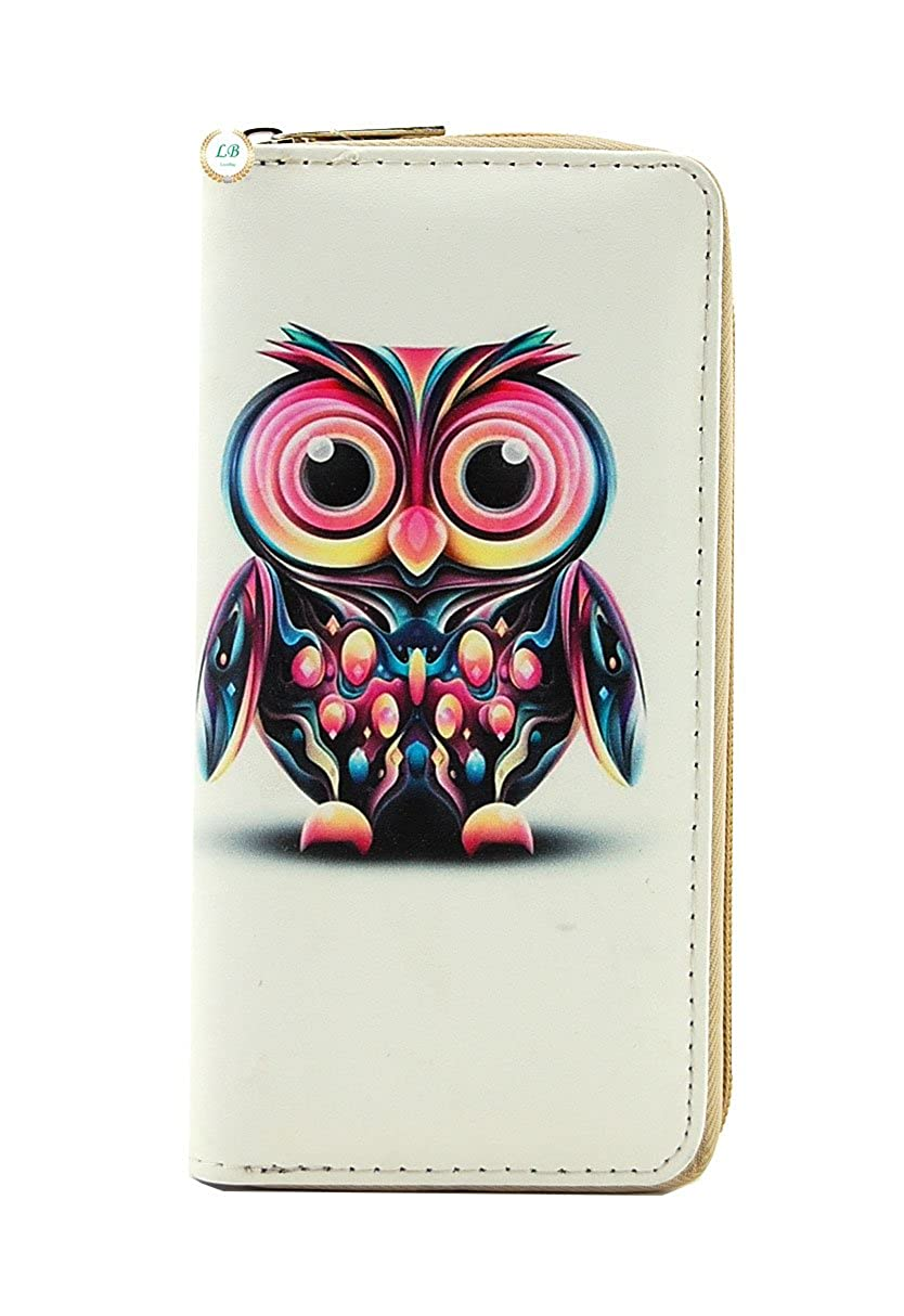 Owl Wristlet Wallet With...