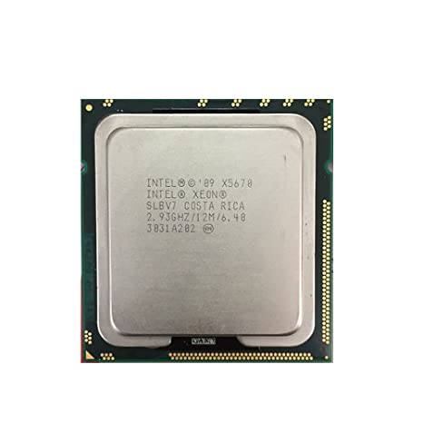 Intel Xeon SLBV7 X5670 2 93GHz 6 4GT/s 12MB L3 Cache Socket LGA1366