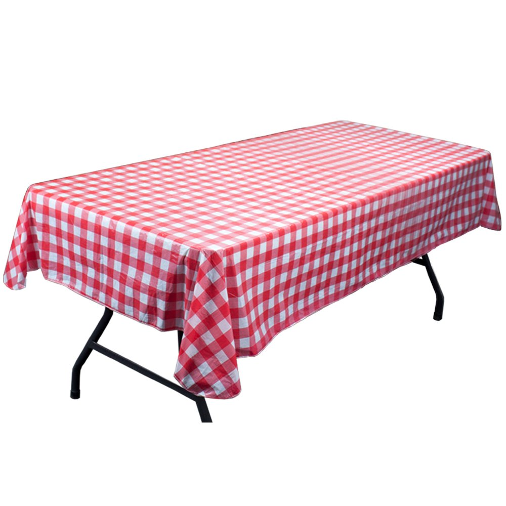 Amazing Amazon.com: Red And White Vinyl Table Cloth With Flannel Backing By Pudgy  Pedrou0027s Party Supplies: Home U0026 Kitchen