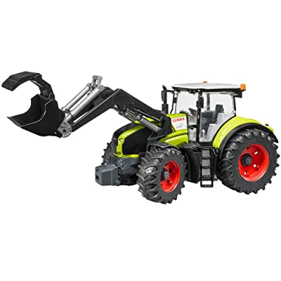 Bruder 03013 Claas Axion 950 Farm Tractor with Frontloader: Toys & Games