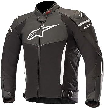 Alpinestars Chaqueta De Piel Moto Sp X Negro-Blanco (L, Negro): Amazon.es: Coche y moto