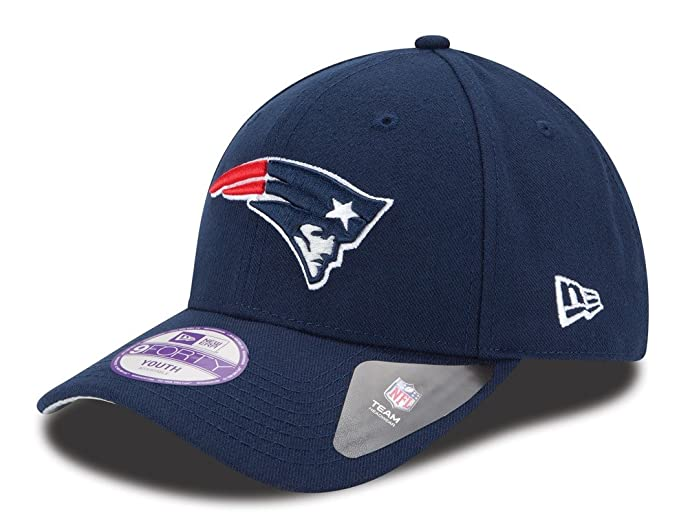 detailed look 9e9fb 07b57 Image Unavailable. Image not available for. Color  New England Patriots New  Era Youth NFL 9Forty ...