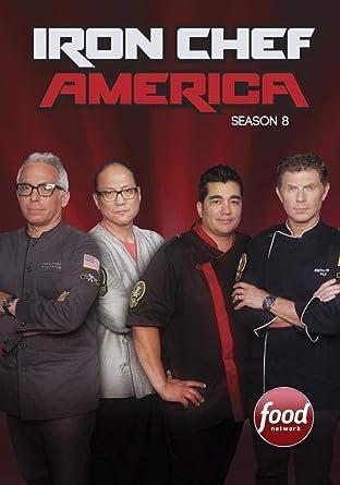 amazon co jp iron chef america season 8 dvd ブルーレイ