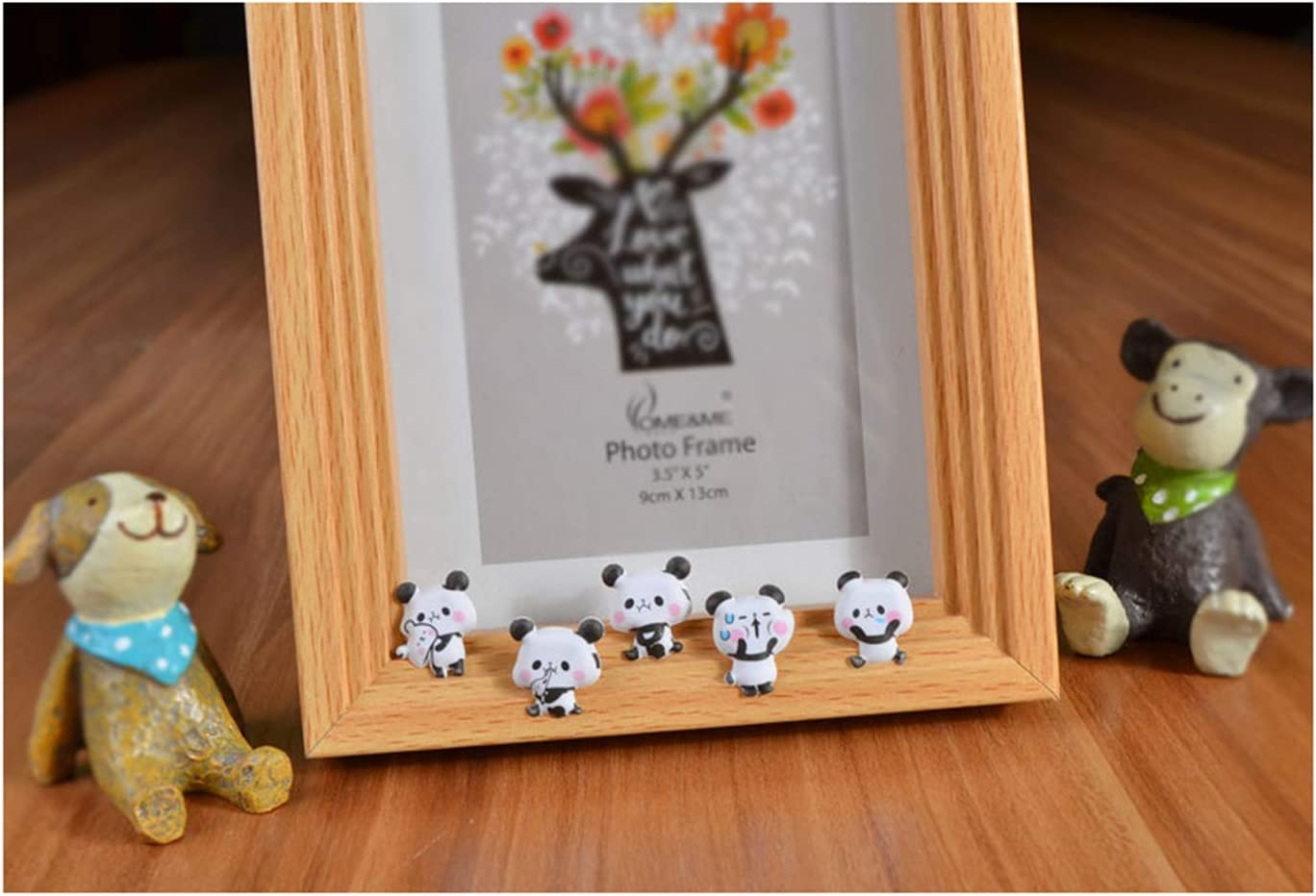 HighMount Panda Stickers 4 Sheets with Pandas Faces Stickers and Bamboo Decals for Kids Scarpbooking Crafts 200 Stickers