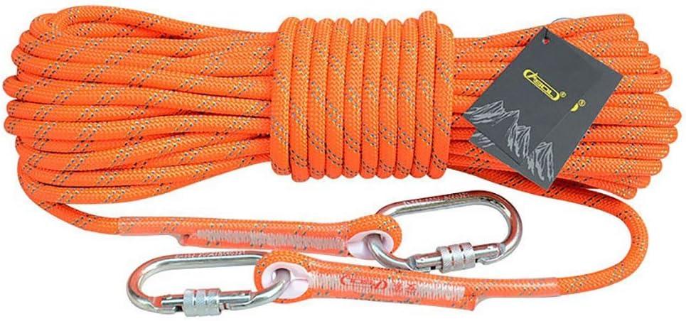 LBYMYB Cuerda de Escalada Cuerda estática Cuerda de Trabajo ...