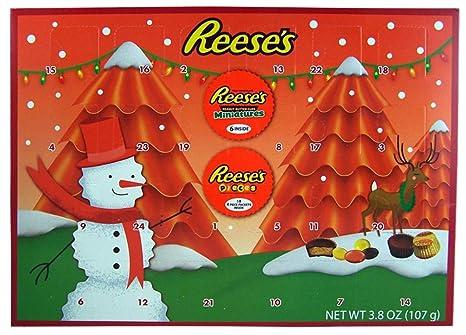 Chocolate Advent Calendar 2019.2018 Reese S Holiday Countdown Christmas Advent Calendar With