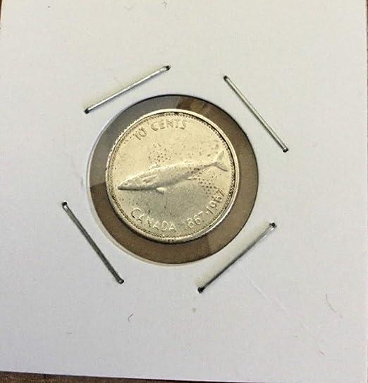 2017 Mint from rolls! Canada Ten Cent Dime Centennial Set 1967