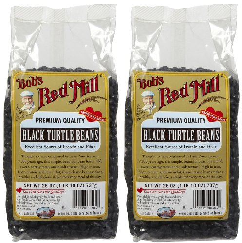 Bob's Red Mill Black Turtle Beans, 26 oz, 2 pk by Bob's Red Mill
