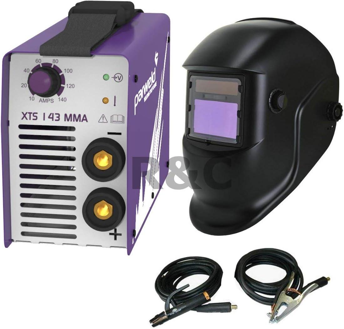 XTS 143 Inverter Soldador & Máscara de Soldadura Automática