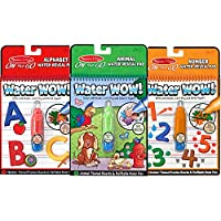 Melissa & Doug On the Go Water Wow! Activity Book, 3-Pack...