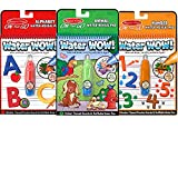 Toys : Melissa & Doug On the Go Water Wow! Activity Book, 3-Pack - Animals, Alphabet, and Numbers