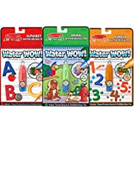 Melissa & Doug On the Go Water Wow! Activity Book, 3-Pack - A...
