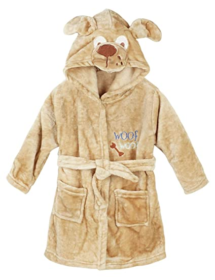 acheter où acheter france pas cher vente Hamour Unisex Kids Coral Fleece Hooded Bathrobe Girls Pajamas Sleepwear  Robes