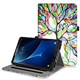 Fintie Case for Samsung Galaxy Tab A 10.1, [Corner Protection] Multi-Angle Viewing Folio Stand Cover with Packet Auto Sleep/Wake for Tab A 10.1 Inch (NO S Pen Version SM-T580/T585/T587), Love Tree