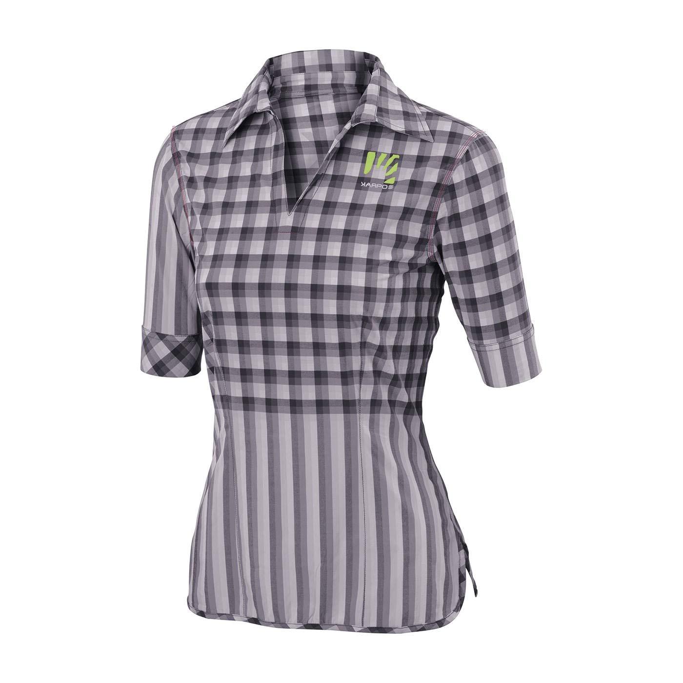 Karpos Free Shape Piz-BOE' Shirt Women - Dark Grey