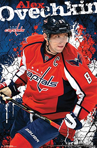 "Trends International Washington Capitals Alexander Ovechkin Wall Poster 22.375"" x 34"""