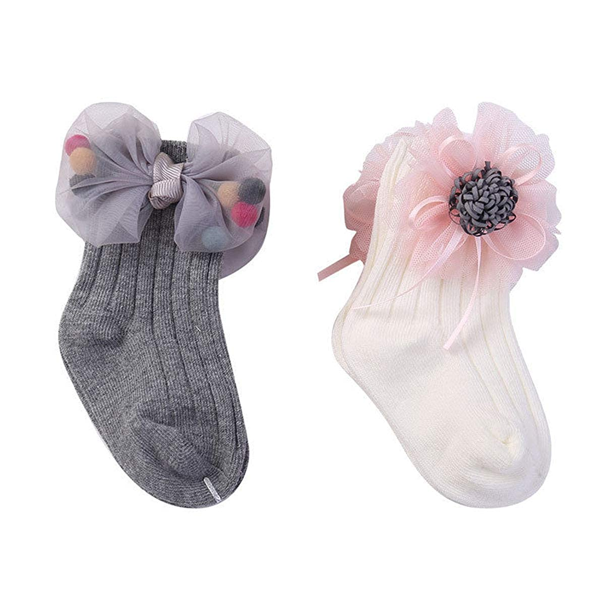 Toddler Baby Boy Girl Cartoon Socks Anti Slip Socks Animal 3D Socks Cotton Rabbit Socks
