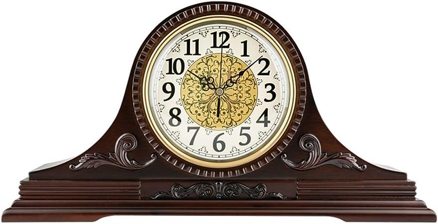 SESO UK- Reloj de escritorio de lujo de lujo mudo cuarzo ...