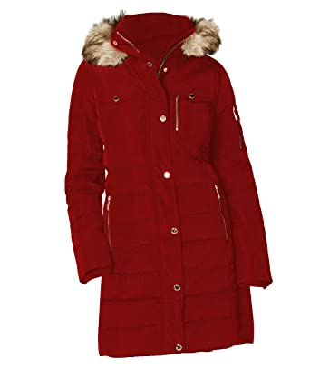 2e1c1d8221ab1 Michael Kors Red Women s Trench Coat S at Amazon Women s Coats Shop