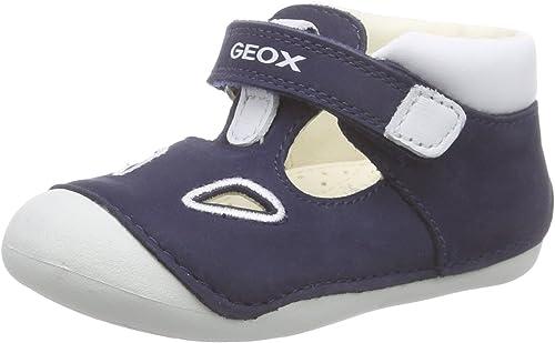 Geox B Tutim A, Chaussons pour Enfant bébé garçon: