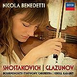 Shostakovich: Violin Concerto No.1 & Glazunov Violin Concerto