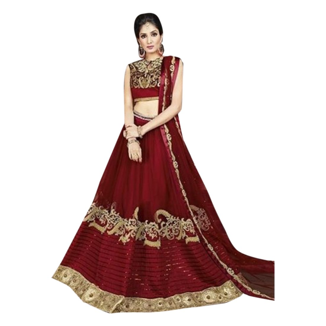 Amazon.com: Wedding Bollywood Designer Bridal Lehenga Choli ...