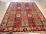 Multi Color Durable Handmade 7x10 Wool Rugs Sale NYC rug