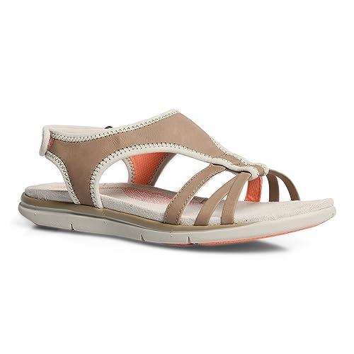 a7835de9a1e8 Hush Puppies Women s Miranda Aida Beige Leather Fashion Sandals - 5 UK India  (38