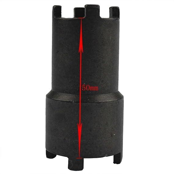 GOOFIT - 19 mm 23 mm Bipolar embrague, herramienta de llave de contratuerca de embrague para moto 50 cc 70 cc 90 cc 110 cc 125 cc Honda Taotao Roketa SSR ...