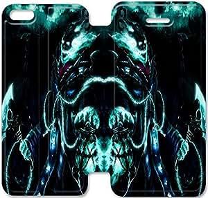 Trilla de encargo del tirón funda Para el iPhone 6 6S Plus 5.5 pulgadas Funda iPhone 6 6S Plus 5.5 pulgadas Cubierta - HLWELKMET4195
