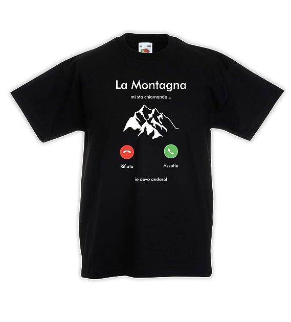 Shirt J3345 La Sta Montagna T Maglietta Mi Bambino Shirtmyidea iOTPuXkZ