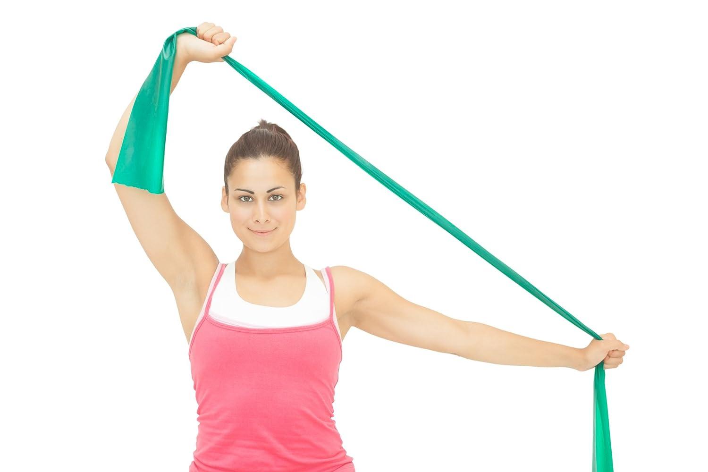 Amazon.com : Flat Exercise Stretch Bands 3 x Resistance Bands Set ...