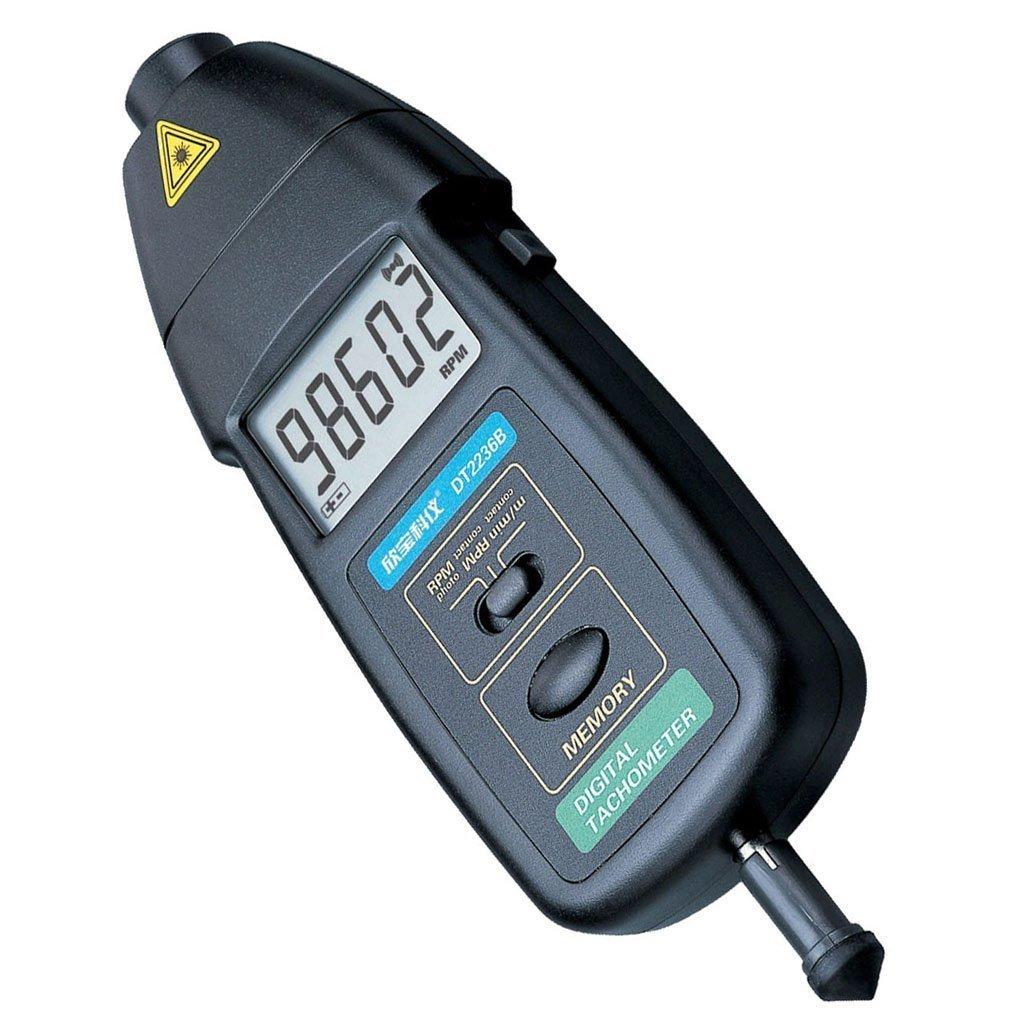 回転するものなんでも回転速度を計測する!接触&非接触 レーザーデジタル回転計タコメーター
