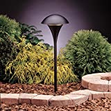 Kichler 15236BKT Eclipse Path & Spread 1-Light 120V, Textured Black Review