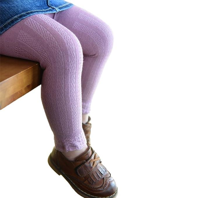 Bambini in PILE Termico Leggings Ragazza Pantaloni L cotone