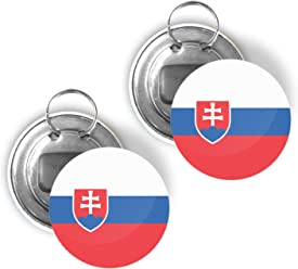SLOVAKIA Car Window Flag 2 Pack FREE UK Delivery!