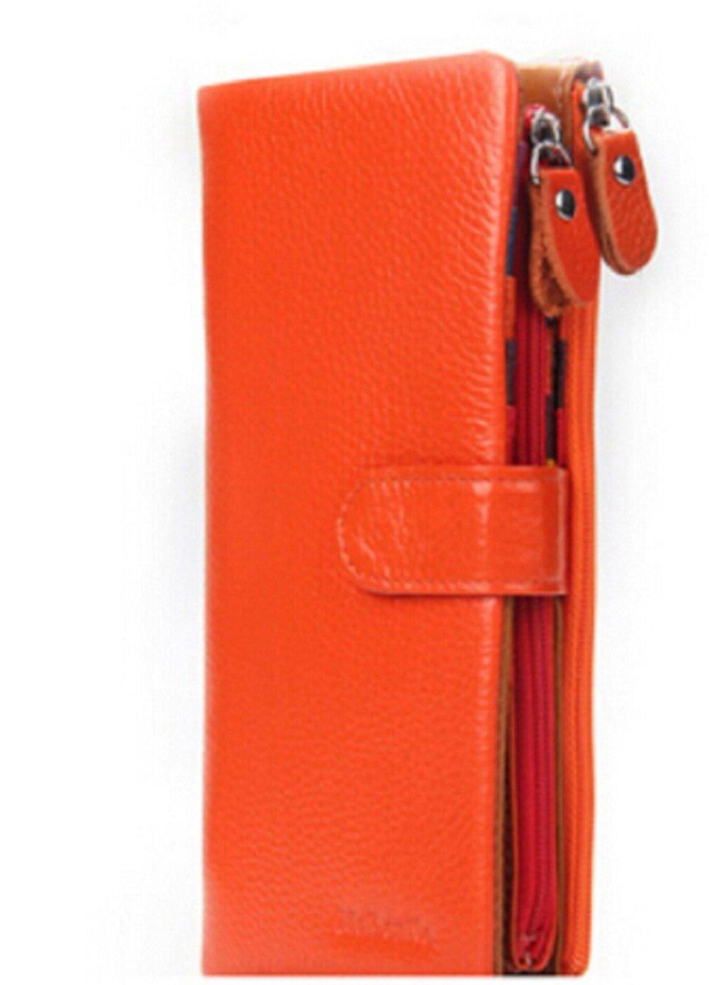 URAQT Portefeuille en cuir mince, mince minimaliste avant Porte-monnaie de poche pour homme Étui de carte de crédit, blocage RFID (Noir) B2309BK