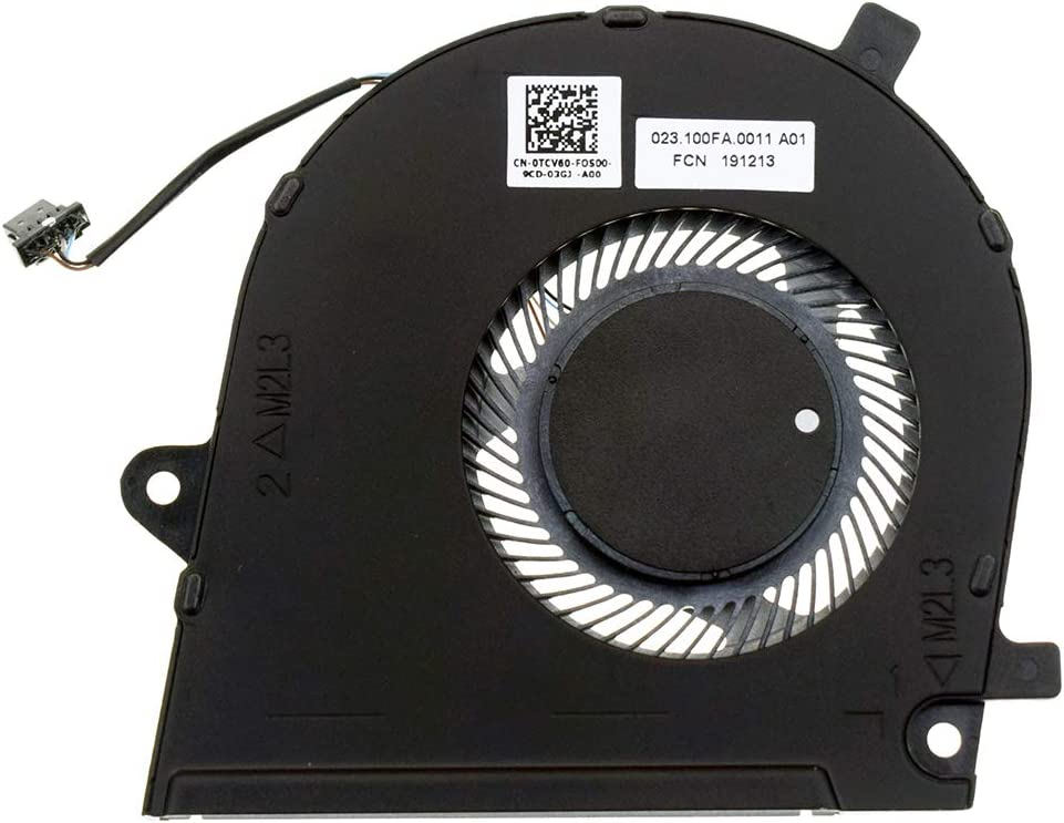 DREZUR CPU Cooling Fan Compatible for Dell Vostro 5390 5391, Inspiron 7391 Series Laptop Cooler TCV60 0TCV60
